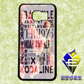 The1975 Vampire Weekend arctic monkeys collage case For Samsung Galaxy S3/S4/S5/S6 Regular/S6 Edge and Samsung Note 3/Note 4 case