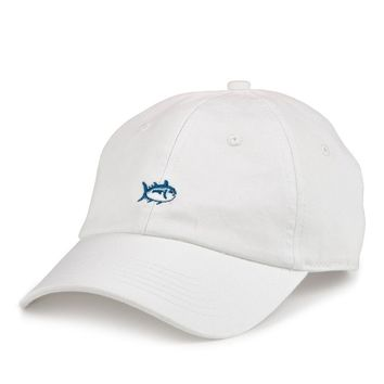 Mini Skipjack Hat in White by Southern Tide
