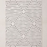 Luca Woven Rug   Urban Outfitters