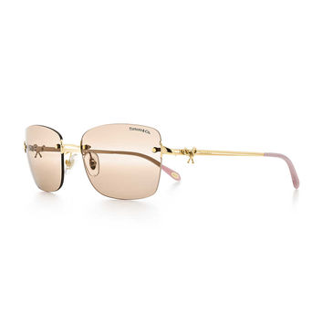 Tiffany & Co. - Tiffany Twist:Rimless SquareSunglasses