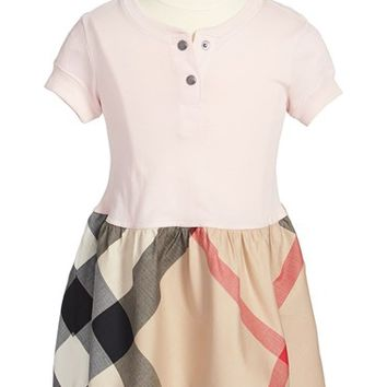 Toddler Girl's Burberry Knit Top Dress,