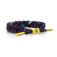 BRAIDED SHOELACE BRACELET: COSMIC RAY - Rastaclat
