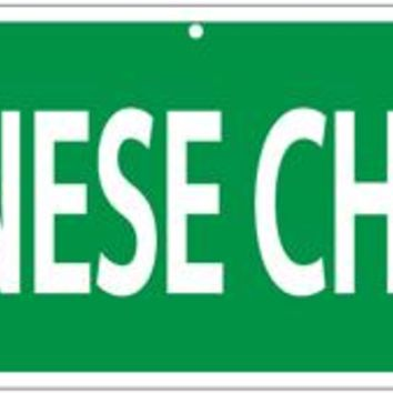 Japanese Chin Circle Street Sign, More Dogs by Imagine This Company