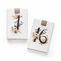 Botanical Table Numbers by RIFLE PAPER Co. | Made in USA
