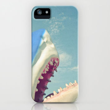 Shark! iPhone & iPod Case by Cassia Beck