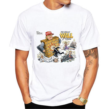 Donald Trump Great Wall Of Trump Ridiculous Tee Shirt
