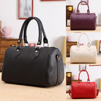 New Women Handbag Shoulder Bags Tote Purse Synthetic Leather Messenger Bag