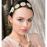Keira floral headpiece