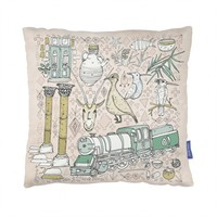 Land of the Nomads Cushion