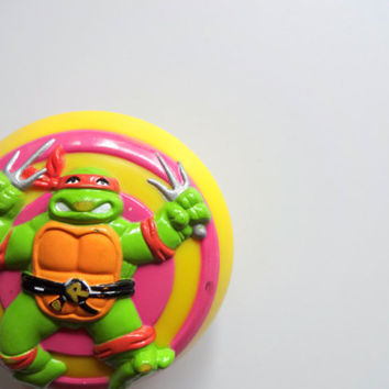 Vintage Teenage Mutant Ninja Turtles Yo Yo 1990
