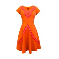 I am Flame Princess Fit & Flare Dress