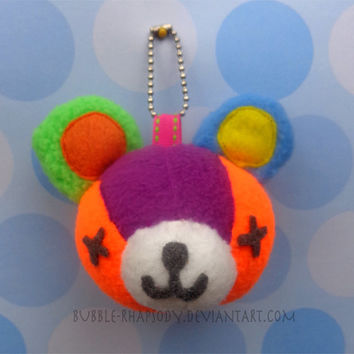 Animal Crossing Stitches Keychain
