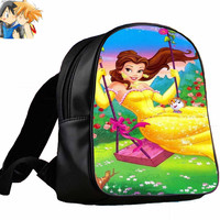 Beauty and the Beast Disney for Backpack / Custom Bag / School Bag / Children Bag / Custom School Bag