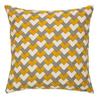 Elaine Smith Metallic Basket Weave Accent Pillow | Nordstrom