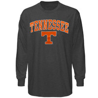 Tennessee Volunteers Midsize Long Sleeve T-Shirt - Charcoal