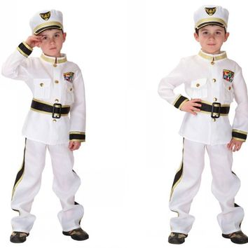 Kids Halloween Costume New Arrival Role Playing Suit Children Police Costumes Make Up Party Uniforms  Police Uniforms B-5155