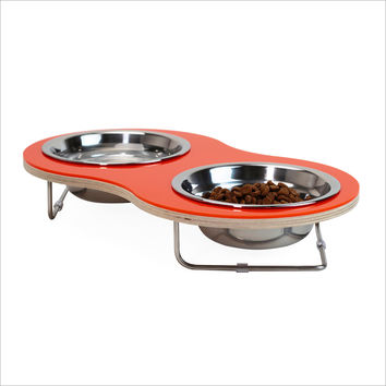 Peanut MEDIUM pet bowl for cats and small dogs