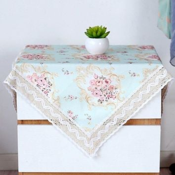 Dustproof Cover Multi-function Cabinet  Fridge Tablecloth Bedside Dustproof Cloth