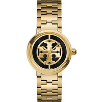 Tory Burch Reva Watch, Gold-tone/black, 28 Mm