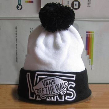 Day-First™ VANS Hip Hop Women Men Beanies Winter Knit Hat Cap