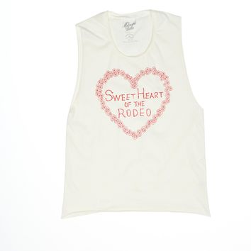Sweetheart of the Rodeo Muscle Tee
