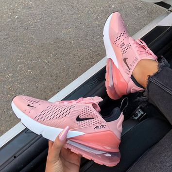 Nike Womens Air Max 270 Coral Stardust Pink White