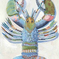 Rock Lobster Canvas Reproduction