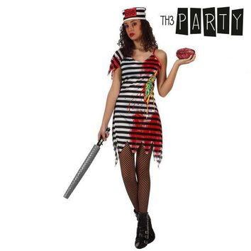 Costume for Adults Th3 Party Dead female prisoner