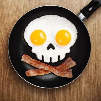 Skull - Funny Side Up Egg Corral :: VampireFreaks Store :: Gothic Clothing, Cyber-goth, punk, metal, alternative, rave, freak fashions