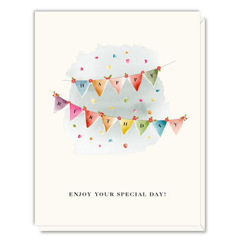Birthday Pennants Card