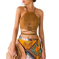 Hippie Bustier Tops