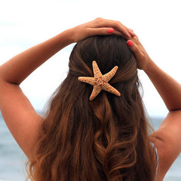 Sugar Starfish Hair Barrette - Large
