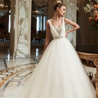Casablanca Bridal 2091 Tulle Wedding Dress