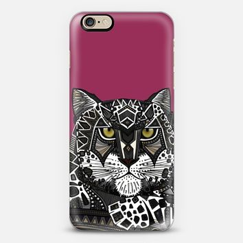 snow leopard pink iPhone 6s case by Sharon Turner | Casetify