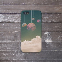 Hanging Planets Case for iPhone 5 iPhone 5S iPhone 4 iPhone 4S and Samsung Galaxy S5 S4 & S3