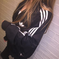 """Adidas"" Women Fashion Cardigan Jacket Coat"