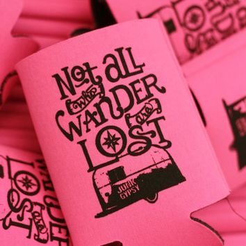 PINK WANDER CAN COOLER - Junk GYpSy co.