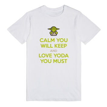 Calm You Will Keep and Yoda Love You Must
