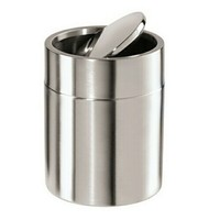 A.M.B. Furniture & Design :: **  Clearance ** :: Stainless Steel Flat Top Bar Bin with Rubber Feet