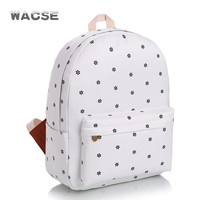 Fashion Stylish Travel Canvas Casual Backpack = 4887776708