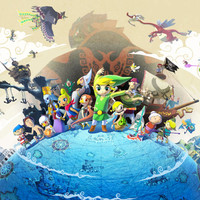 The Legend of Zelda: The Wind Waker video game poster 24x18