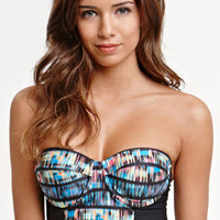 Hurley Record Scratch Bustier Top at PacSun.com