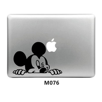 Funny Cartoon Vinyl Decal Laptop Sticker for Macbook Air Pro Retina 11 12 13 15 Inch Laptop Skin Shell for Mac book Case