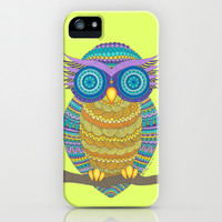 Henna Owl iPhone & iPod Case by haleyivers