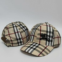 Burberry Women Men Fashion  Casual  Hat Cap