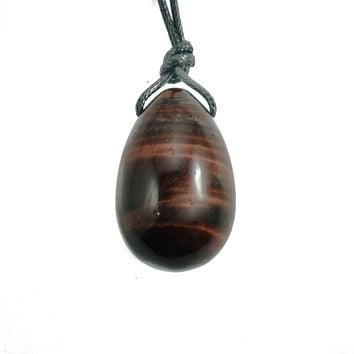 Red Tiger's Eye Yoni Egg- Small, Medium or Large