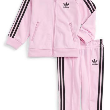 adidas Originals Track Jacket & Athletic Pants Set (Baby Girls) | Nordstrom