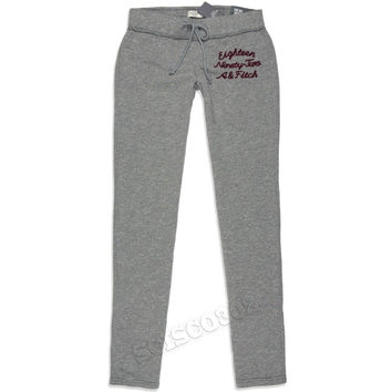 Abercrombie & Fitch Sweatpants Skinny Fit Joggers Gray