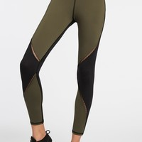 Michi Axial Legging - Olive