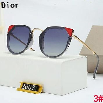 Dior Popular Women Fashion Leisure Shades Eyeglasses Glasses Sunglasses 3#